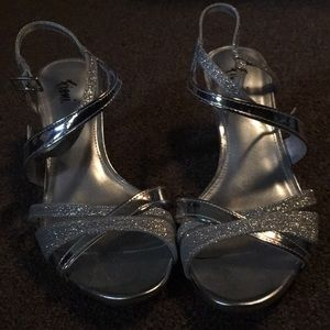 Shoes - 1/2 inch strapping heals